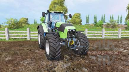 Deutz-Fahr Agrotron 7250 TTV front loader for Farming Simulator 2015