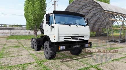KAMAZ 54115 for Farming Simulator 2017
