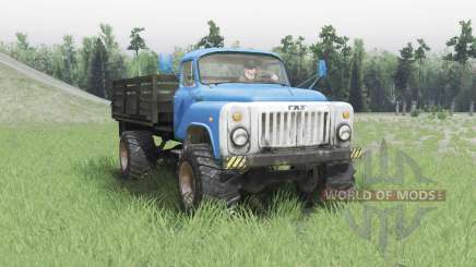 GAZ 53 4x4 v2.0 for Spin Tires