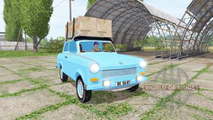 Trabant 601 for Farming Simulator 2017