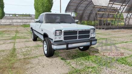 Dodge Power Ram Club Cab (W250) for Farming Simulator 2017