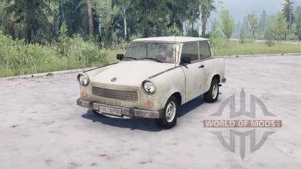 Trabant 601 for MudRunner