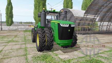 John Deere 9520R v5.0.4 for Farming Simulator 2017