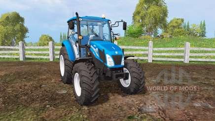 New Holland T4.115 matte color for Farming Simulator 2015