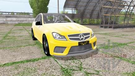 Mercedes-Benz C 63 AMG (W204) for Farming Simulator 2017