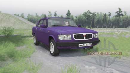 GAZ 3110 Volga for Spin Tires