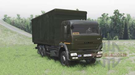 KamAZ 65117 for Spin Tires