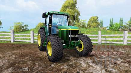 John Deere 6810 front loader for Farming Simulator 2015