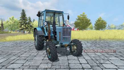 MTZ 82 Belarus v2.0 for Farming Simulator 2013