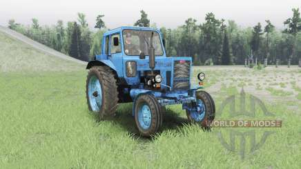 MTZ 80 Belarus for Spin Tires