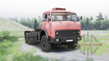 MAZ 515Б v1.25 for Spin Tires