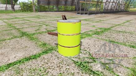 Barrel weight multicolor for Farming Simulator 2017