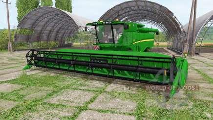 John Deere S670 RowTrac for Farming Simulator 2017