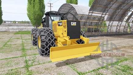 Caterpillar 555D v2.0 for Farming Simulator 2017
