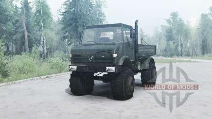 Mercedes-Benz Unimog U1650 for MudRunner
