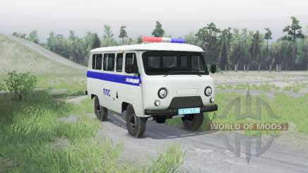 UAZ 3909 PPP v1.1 for Spin Tires