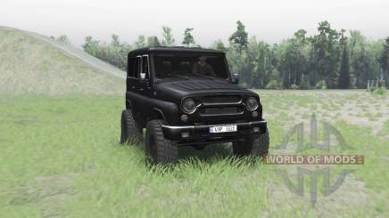 UAZ 315195 hunter turbo v2.0 for Spin Tires