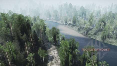 Two rivers for Spintires MudRunner