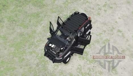 UAZ 3163 Patriot v1.1 for Spin Tires
