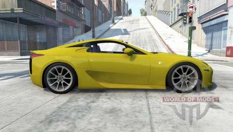 Lexus LFA for BeamNG Drive