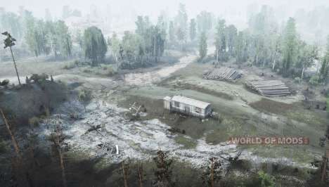 The Village Of TES for Spintires MudRunner
