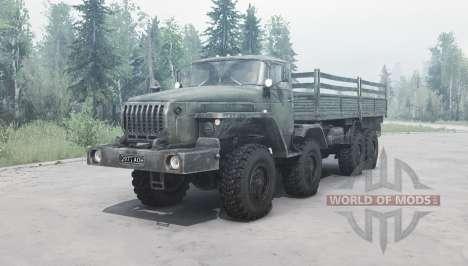Ural 6614 v2.0 for Spintires MudRunner