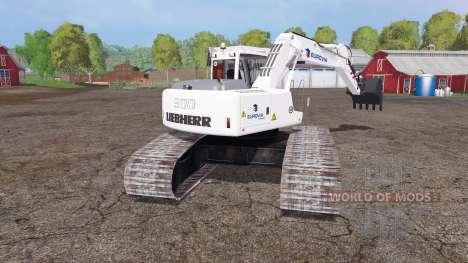 Liebherr A 900 C Litronic eurovia for Farming Simulator 2015