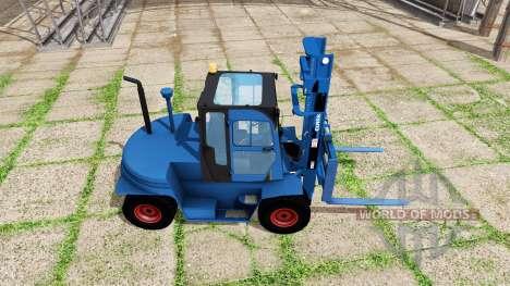 Clark C80D blue for Farming Simulator 2017