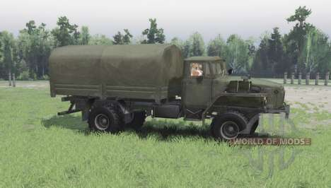 Ural 43206 for Spin Tires