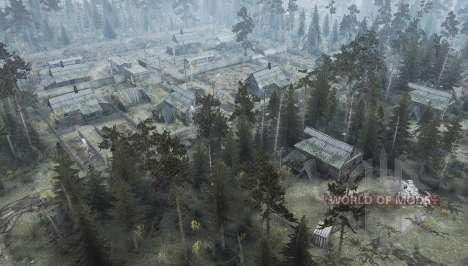 Suburbs 2 - Autumn time for Spintires MudRunner