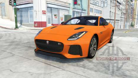 Jaguar F-Type SVR Coupe for BeamNG Drive