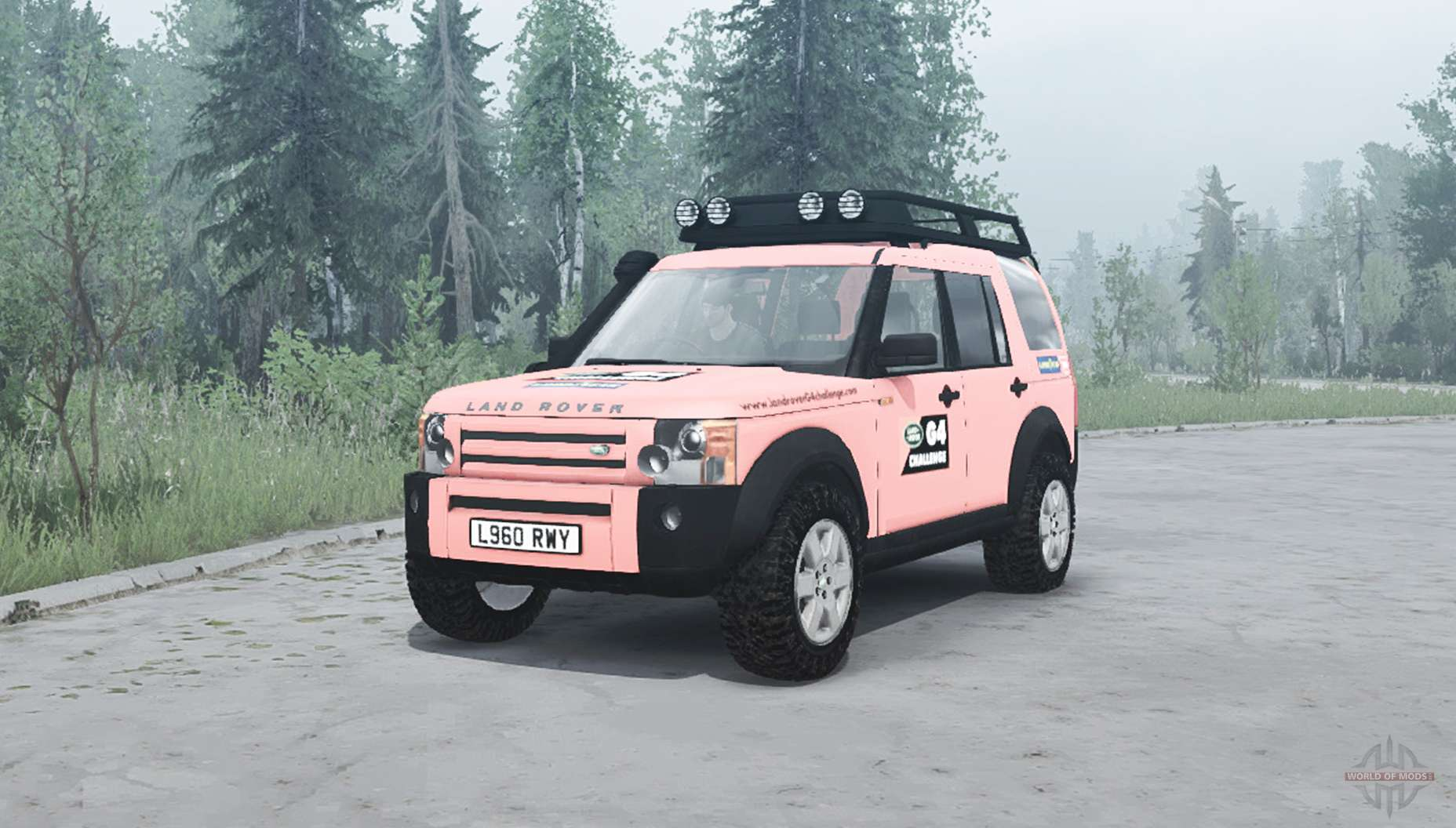 land rover discovery 3 g4 edition for mudrunner. Black Bedroom Furniture Sets. Home Design Ideas