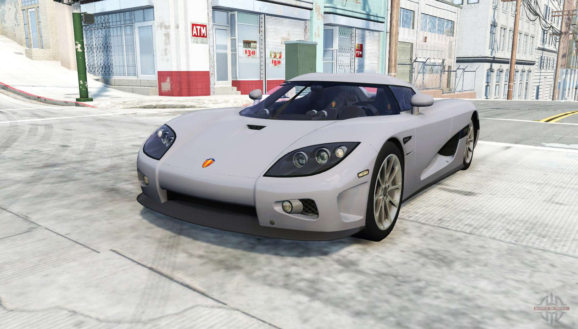 Koenigsegg Ccxr For Beamng Drive