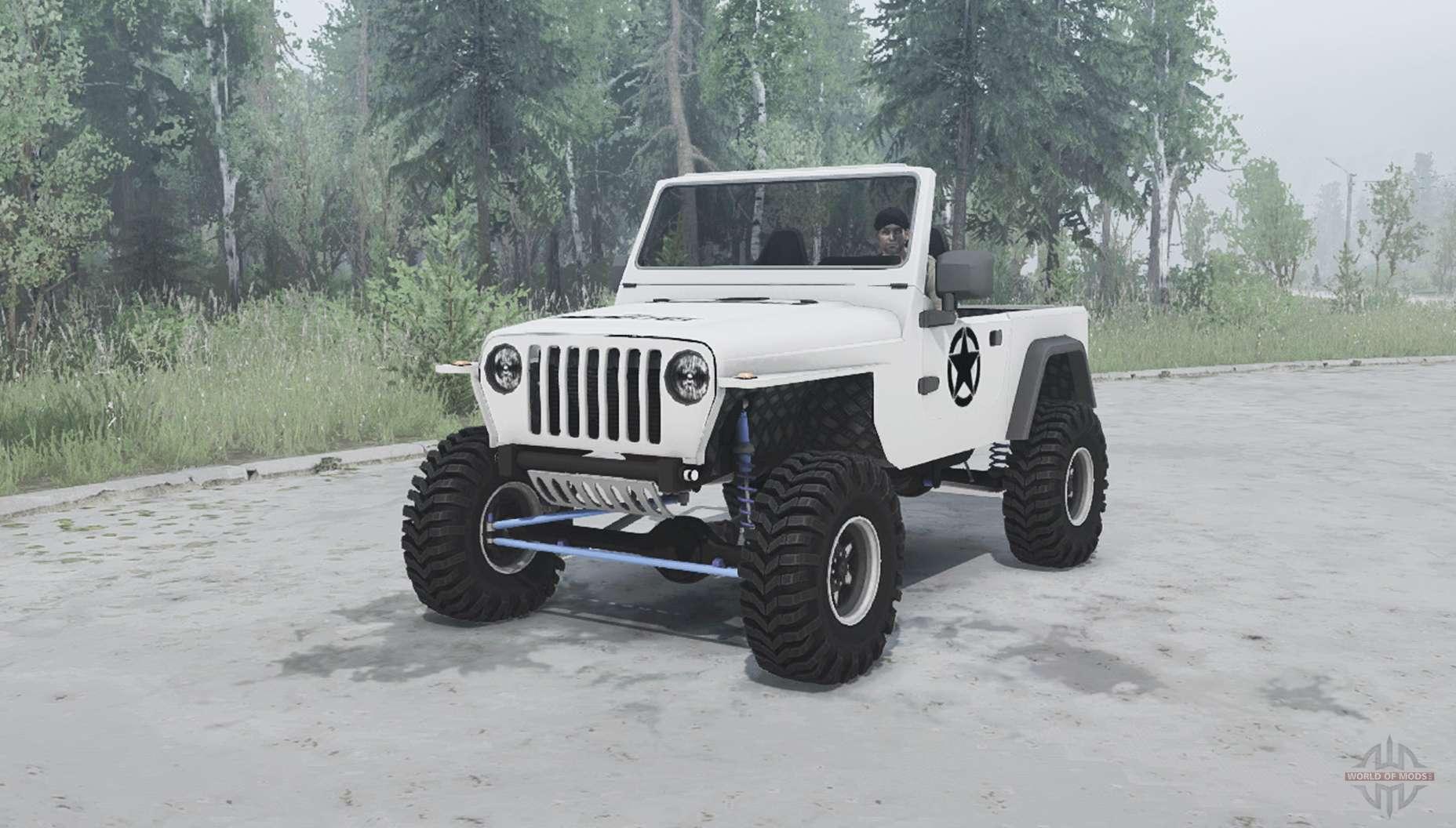 jeep wrangler tj 2001 for mudrunner. Black Bedroom Furniture Sets. Home Design Ideas