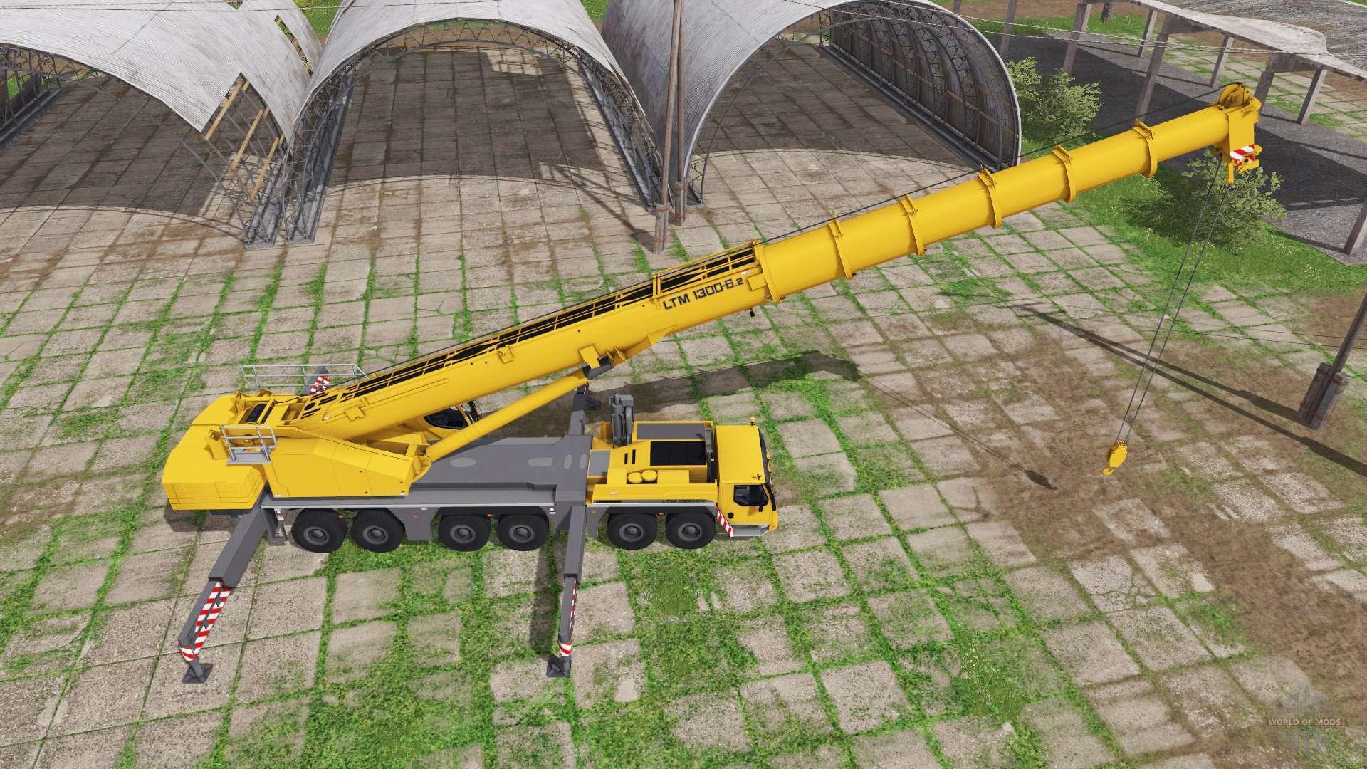 Liebherr LTM 1300-6 2 for Farming Simulator 2017