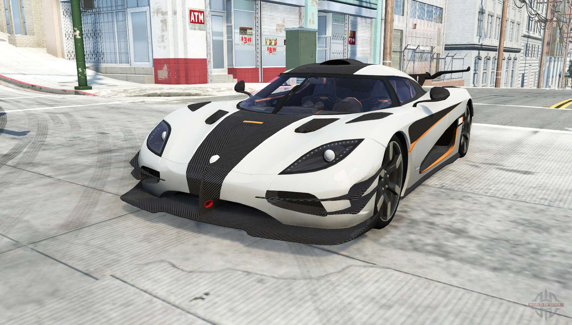 Koenigsegg e1 2014 for BeamNG Drive