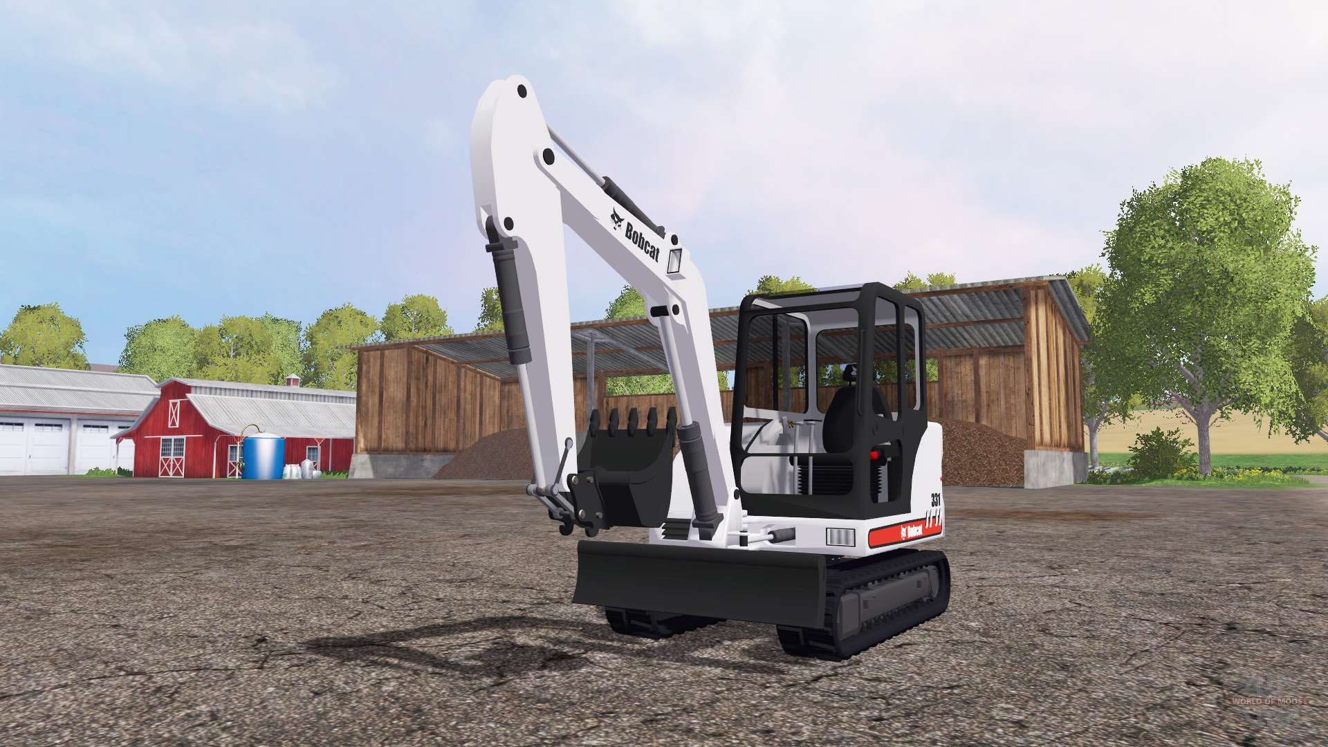 Bobcat 331 for Farming Simulator 2015