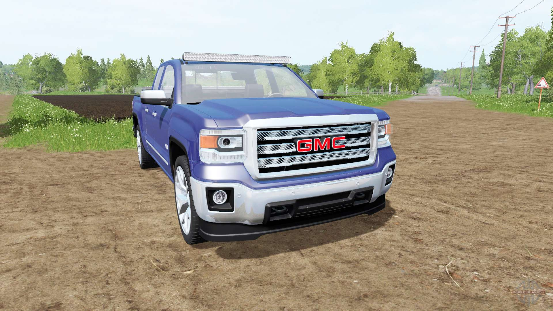 gmc sierra 1500 double cab gmtk2 for farming simulator 2017. Black Bedroom Furniture Sets. Home Design Ideas