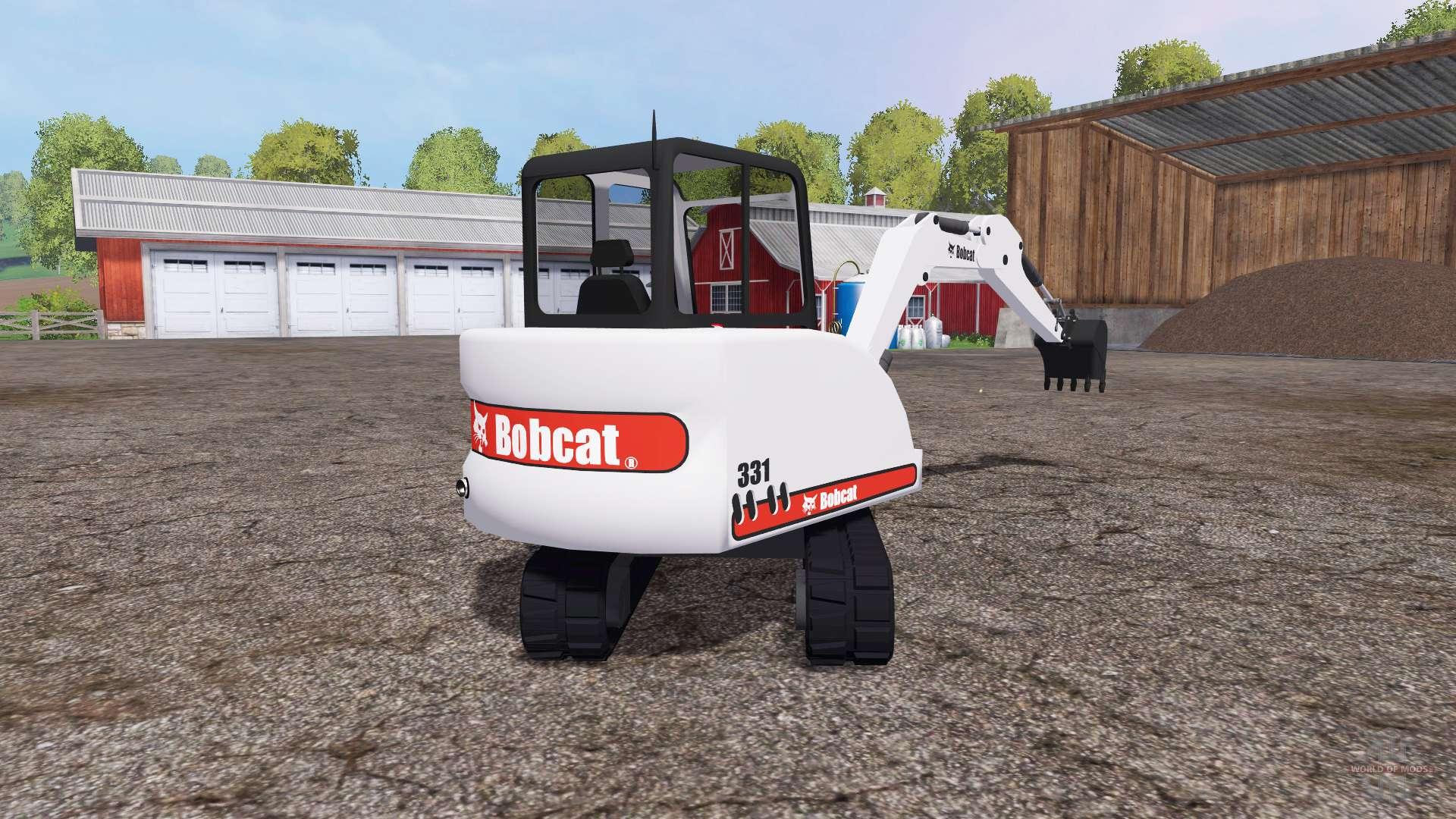 Bobcat 331 for Farming Simulator 2015