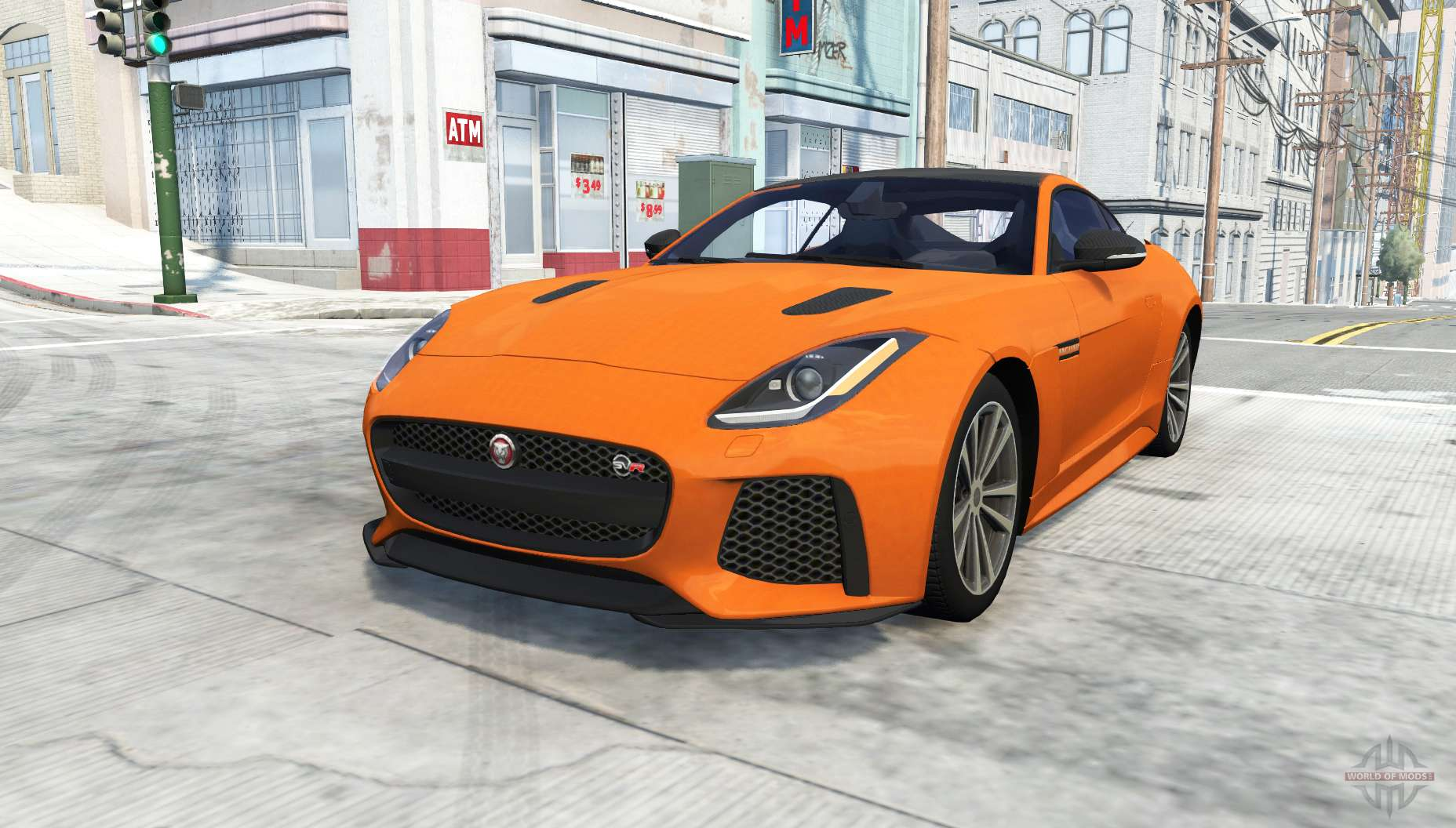 jaguar f type svr coupe for beamng drive. Black Bedroom Furniture Sets. Home Design Ideas