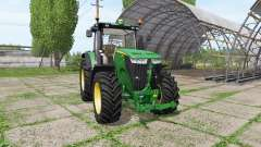 John Deere 7200R for Farming Simulator 2017