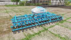 Kinze planter with fertilizer for Farming Simulator 2017