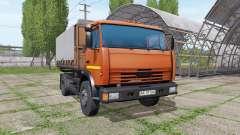 KAMAZ 43255 v2.1 for Farming Simulator 2017
