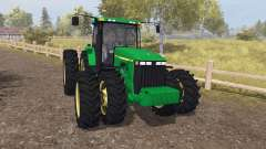 John Deere 8400 v3.0 for Farming Simulator 2013