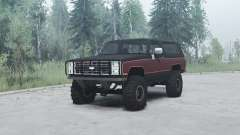 Chevrolet K5 Blazer 1985 for MudRunner