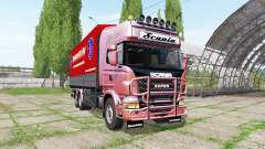 Scania R730 tandem for Farming Simulator 2017