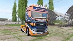 Scania R700 Evo TOPRUN for Farming Simulator 2017