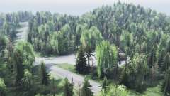 mountain Altai for Spin Tires