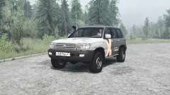 Toyota Land Cruiser 105 for MudRunner
