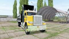 Peterbilt 388 stake bed v1.1 for Farming Simulator 2017